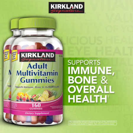 Kirkland Signature Multivitamin Gummies