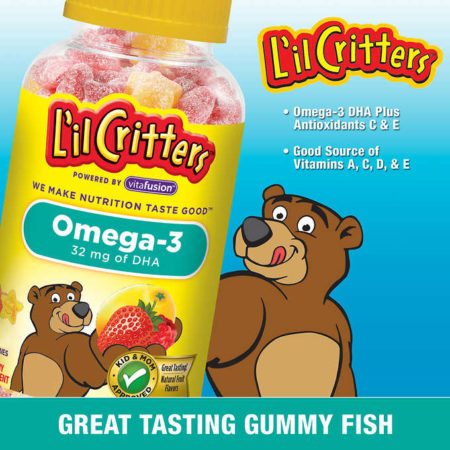 Lil Critters Omega-3 DHA